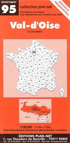 Carte routière : Val-d'Oise