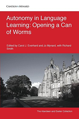 Autonomy in Language Learning: Opening a Can of Worms