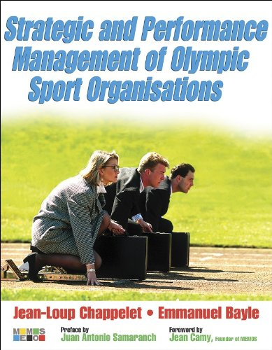 Strategic and Performance Management of Olympic Sport Organisations / Jean-Loup Chappelet, Emmanuel Bayle | Chappelet, Jean-Loup