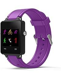 Correa de Reloj Casual, YpingLonk Silicona para Garmin Vivoactive Acetate Watch Original Pulsera Banda Moda