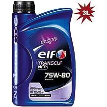 Elfo tranself NFP 75W80Gear Aceite tot-158485–3–3x 1L = 3