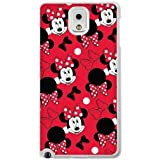 The best gift for Halloween and Christmas Samsung Galaxy Note 3 Cell Phone Case White The beautiful Disney Princess Minnie Mouse GON6213023