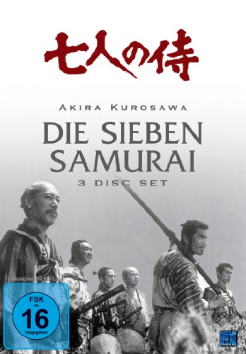 Bild von Die Sieben Samurai (Complete Edition) [3 DVDs]