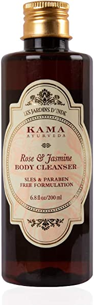 Kama Ayurveda Rose and Jasmine Body Cleanser, 200ml