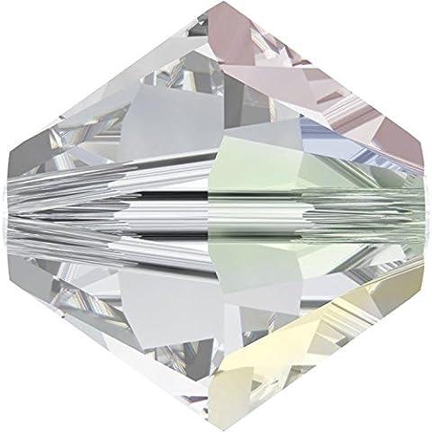 SWAROVSKI Crystal Xilion Bicones/Beads *5328 *10mm *CRYSTAL AB *Pack of