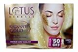 Lotus Herbals Radiant Gold Facial Kit,37...