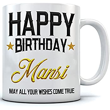 Buy Happy Birthday Rashmi Name Printed Ceramic Coffee Mug 350 Ml
