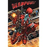 Deadpool Attack Marvel Póster