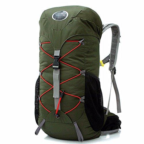 Ydiudiu borsa da escursione per escursionismo zaino da montagna zaino da picnic zaino sportivo selvaggio, verde militare