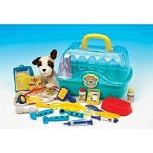 Gueydon Jouets Sas 800549 - Cesta de juguete con accesorios de veterinario