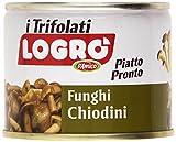 D'Amico - Logró, Funghi Chiodini Trifolati, Piatto Pronto - 4 pezzi da 180 g [720 g]