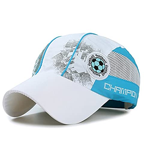 Kids Quick Dry Sun Hat - Boys Summer Breathable Lightweight