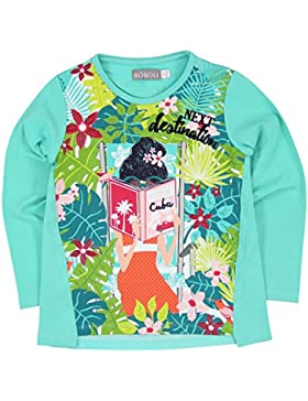 Boboli Mädchen Stretch Knit T-Shirt For Girl