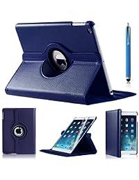 Apple iPad 2ème/3ème/4ème génération avec inclus (modèle) (non compatible iPad pour iPad Mini, iPad Air, iPad Air 2, iPad Pro), Similicuir, bleu, Apple ipad 2/3/4 case