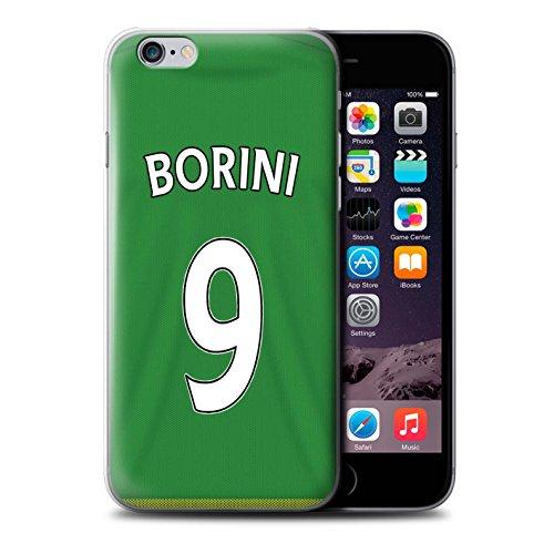 Offiziell Sunderland AFC Hülle / Case für Apple iPhone 6+/Plus 5.5 / Pack 24pcs Muster / SAFC Trikot Away 15/16 Kollektion Borini