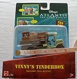 Disney ATLANTIS The Lost Empire : VINNY'S TINDERBOX / ディズニー アトランティス ~失ã'ã'ŒãŸå¸å›½ï½žã€€ãƒ´ã'£ãƒ‹ãƒ¼ã®ç«å£ç®±