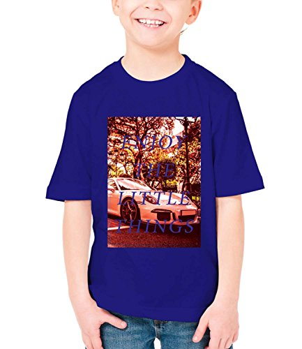 billion-group-enjoy-small-things-in-life-boys-classic-crew-neck-t-shirt-dark-blue-medium