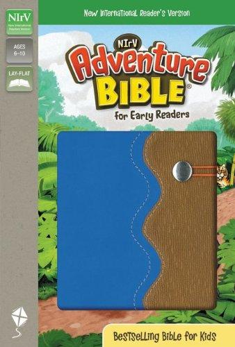 Adventure Bible for Early Readers-NIRV-Elastic Band Closure (Closure Band Elastic)