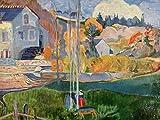 Lais Puzzle Paul Gauguin - Die David-Mühle in Pont-Aven 100 Teile