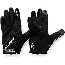 meteor® Guantes Full FX10 para ciclismo mtb Road Race Downhill Senderismo y otras Sports Unisex (S)