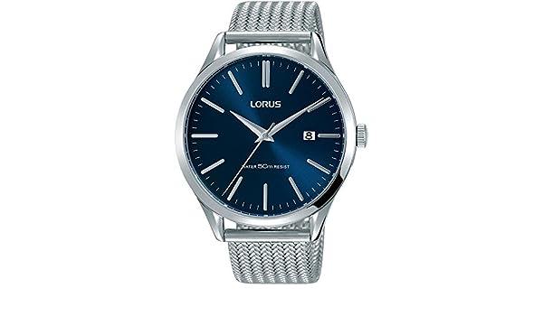 Lorus 42mm EdelstahlGehäuse Batterie Armbanduhr Armband Herren W9IEDH2