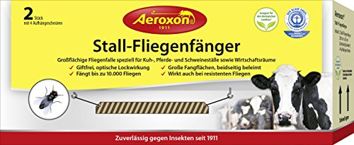 Aeroxon Stall-Fliegenfänger, 1 Pack mit 2 Stück