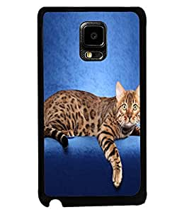 Printvisa Cute Cat Sitting On Sofa Back Case Cover for Samsung Galaxy Note Edge::Samsung Galaxy Note Edge N915