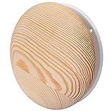 Anemostat Tellerventil Zuluft Abluft Holz Sauna Deckenventil Luftventil Metall Ø 100 mm