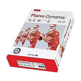 Papyrus 88027687 Druckerpapier US-Letter-Format: PlanoDynamic 80 g/m², US 21,5x27,9 cm 500 Blatt weiß, US size