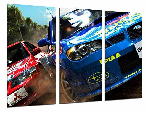 Cuadro Fotográfico Deporte Competicion Rally Subaru
