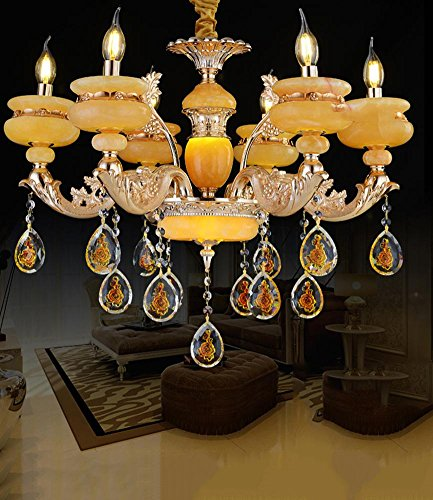 DG99-European-simplicity-Golden-luxury-Living-room-bedroom-restaurant-lights-Zinc-alloy-crystal-chandelier