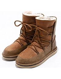 Sommer Schuhe Schuhe Leder mit dicken hohlen feste Jahreszeiten coole Stiefel, Golden, 38