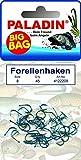 Paladin Forellenhaken - 45 Angelhaken zum Forellenangeln