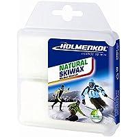 Holmenkol - Cera natural para esquís y tablas de snowboard (2 unidades, 35 g)