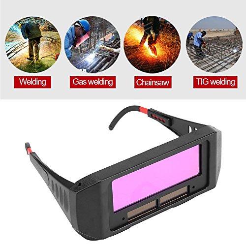 Occhiali Oscuranti Per Saldatura Auto Solare, Occhiali Protettivi Per Saldatura Di Sicurezza Occhiali Maschera Anti-Riflesso Occhiali Antiriflesso