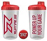Shaker von Runtime | Shaker ideal für die Zubereitung deines Next Level Meals | Proteinpulver/Smoothie / Protein Shakes/Shake Becher | 700ml