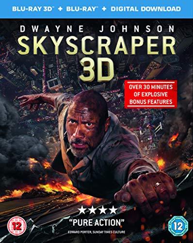 Skyscraper (3D Blu-ray + Blu-ray + Digital Download) [2018] [Region Free]