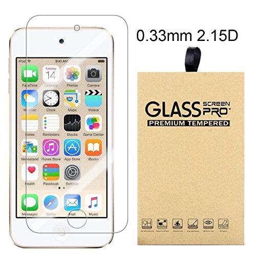 Ipod Screen Guard (bagmaxx Apple iPod Touch 6 Echt Schutz Glas Folie Displayschutz Tempered Glass Screen Protector Guard 9H Film)