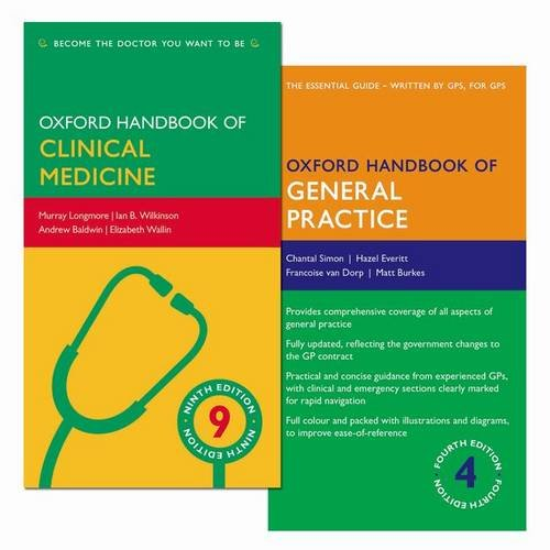 Pack of Oxford Handbook of General Practice 4e and Oxford Handbook of Clinical Medicine 9e (Pack) (Oxford Medical Handbooks)