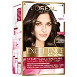 L'Oréal Paris Excellence Creme Coloration, 3 - Dunkelbraun