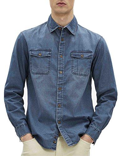 Celio Gajane, Camicia Uomo Blu (Stone)