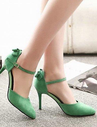 WSS 2016 chaussures talons / talons bout pointu mariage / bureau des femmes&carrière / partie&soirée / robe / casual black-us7.5 / eu38 / uk5.5 / cn38