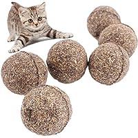 Drove 2pcs gato bola de menta con revestimiento con Catnip jugar juguetes para mascotas Gato