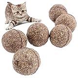 Drove Ball mit Katzenminze beschichtet, Spielzeug für Kätzchen, 2 Stück