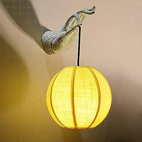 Lampade da parete retr¨° creativo decorare il sala da pranzo corridoio soggiorno corridoio luce studio classico di lampade