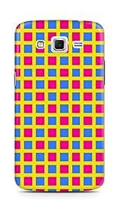Amez designer printed 3d premium high quality back case cover for Samsung Galaxy Grand 2 G7102 (Geometric Bright Pattern3)