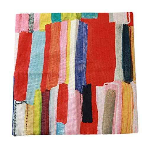 LIGHTBLUE Flower Cotton Kissenbezug Home Pillow Kissenbezug Linen Home Super Soft Bed Kissenbezug, Pattern 1 -