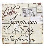 G.W. Holzschild und Fotorahmen in Groß