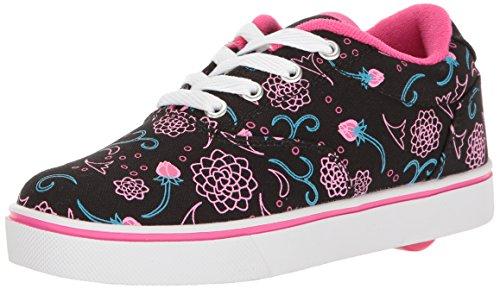 Heelys Launch, Sneakers basses fille Noir (Black/hot Pink/blue)