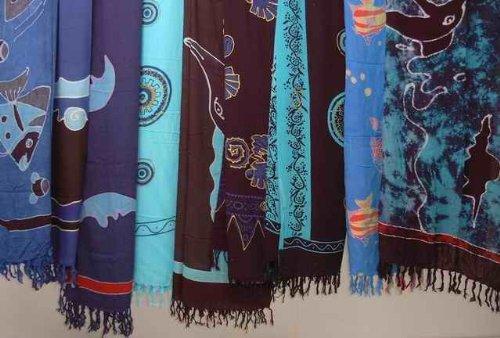 Paréo hANDPaINTING, divers motifs, paréo orientale ornée fine-jupe ... fa7e22fa0d3